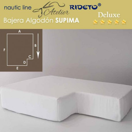 Sheet boat Deluxe Supima fabric for ship king Size inv.corner