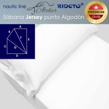 Sheet and pillow case for boat matress Trapeze Isoceles