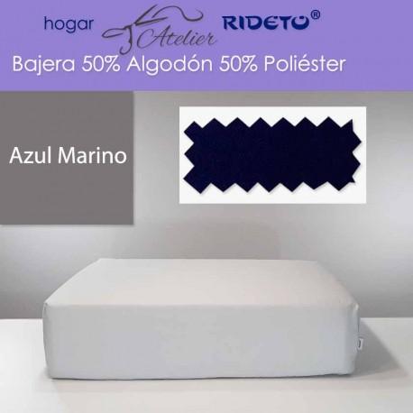 Bajera 50% Alg. 50 Pol. colchón 35 cm Azul Marino