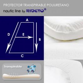 Protector impermeable para colchón barco Trapecio Rectángulo D