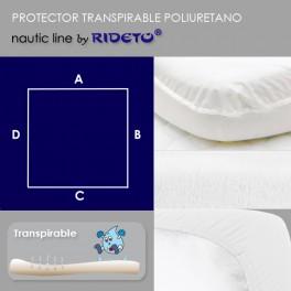 Protector impermeable para colchón barco Modelo C
