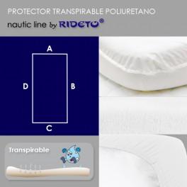 Protector impermeable para colchón barco Modelo Rectangular