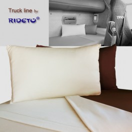 Cotton Jersey knit flat sheet for Trucks bunk bed