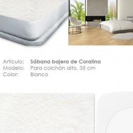 Bajera ajustable térmica Coralina colchón 35 cm