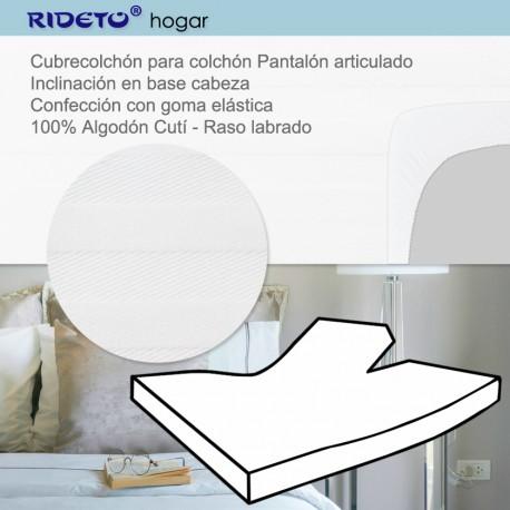 Funda entera algodón Cuti para camas articuladas Pantalón
