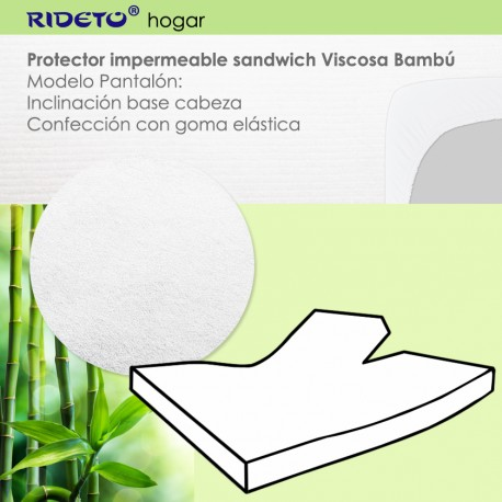 Deluxe Bamboo Viscose Matratzenschutz elektrische Betten