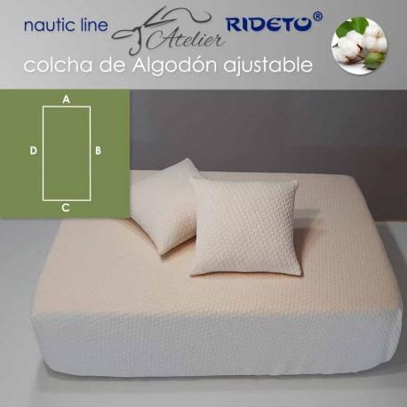 Colcha ajustable Deluxe  Jacquard Algodón, camarote Rectángulo