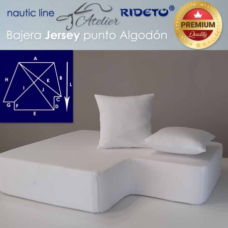 Sheet adjustable fabric Cotton Jersey for ship king Size inv.corner