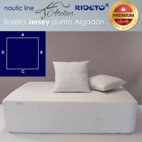 Sheet adjustable fabric Cotton Jersey for ship matress square shape