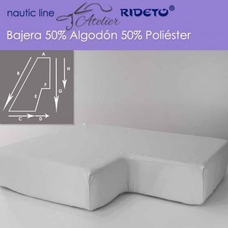Bajera ajustable 50/50 Alg-Pol, camarote medio Trapecio Isosc. izq.