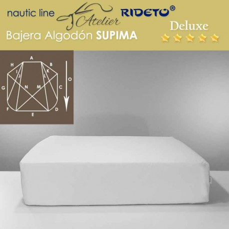 Boat Fitted sheet Deluxe Supima fabric for ship matress Form DE corners