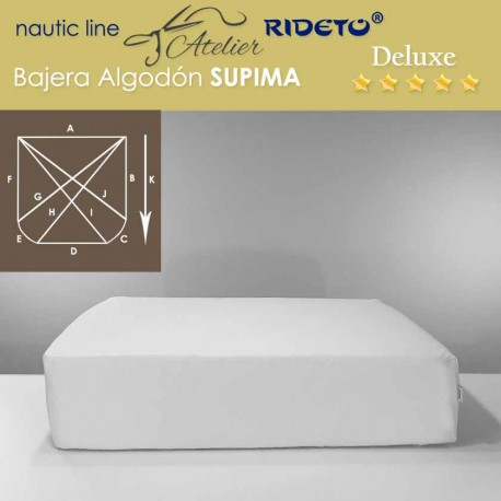 Sheet for boat Supima Deluxe fabric for ship matress shape D