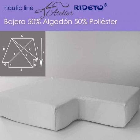 Bajera ajustable 50/50 Alg-Pol, camarote doble Ángulo invertido