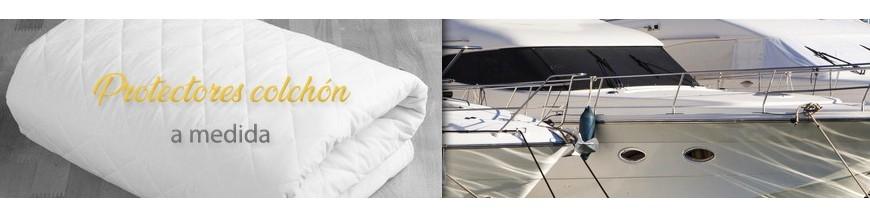 Protège couvre matelas pour cabine de bateaux
