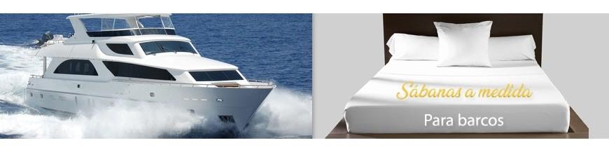 Drap plat fait sur mesure pour bateaux, voiliers et yacht