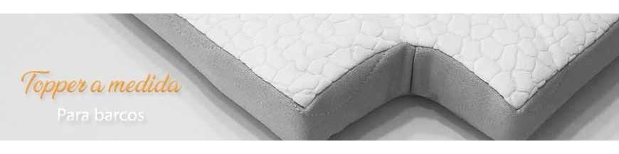 Topper for boat mattress