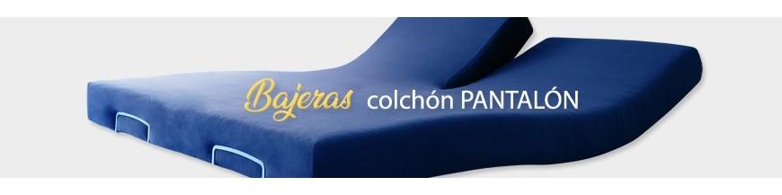 Spannbetttuch für elektrische Betten Modell PANTALON