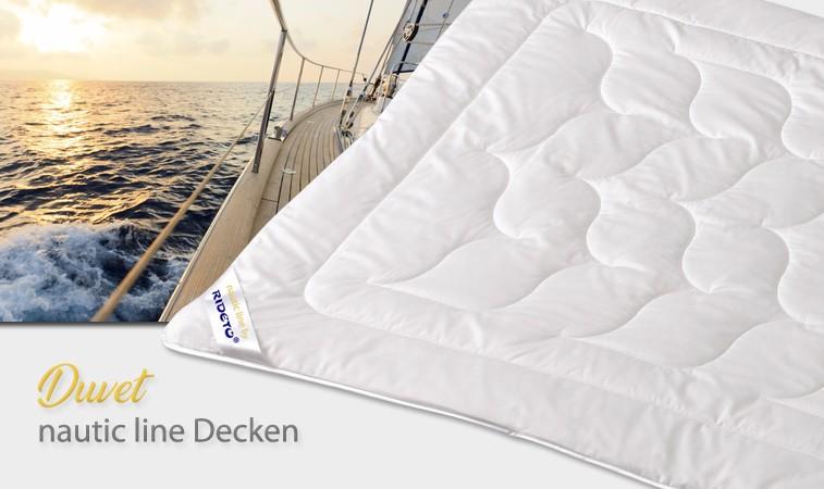 Duvet und Decken für Boot und Yacht
