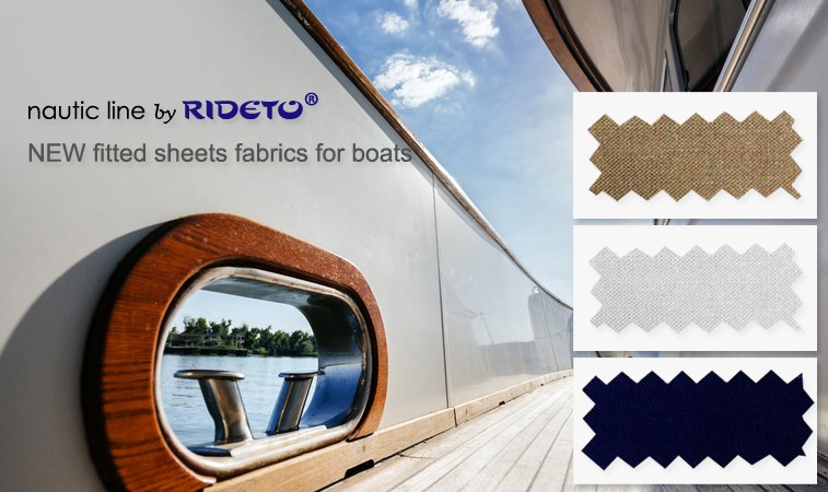 Beddlinen and fitted sheets for Boat and Yacht