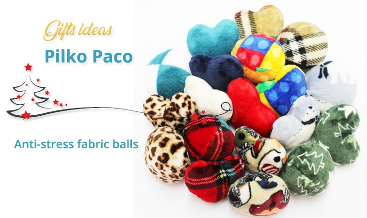 Fabric Anti-stress balls and hearts