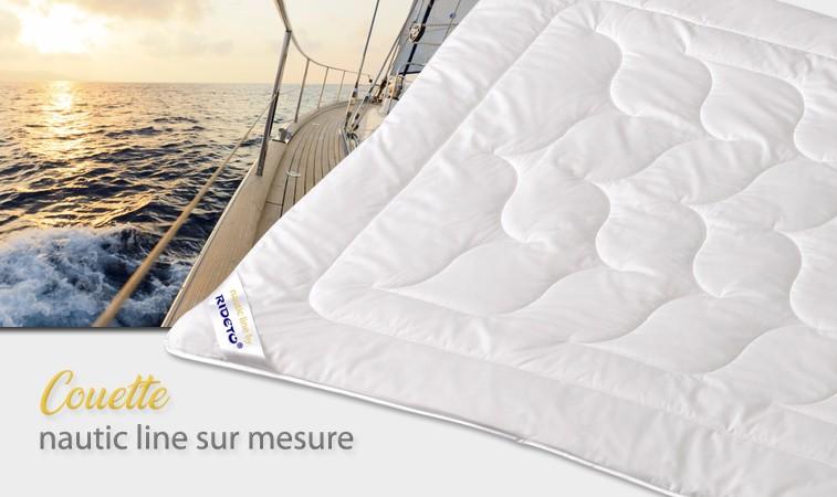 Couette et Duvet conçu sur mesure pour bateau et yacht